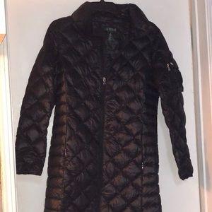 Like new Ralph Lauren packable down coat!